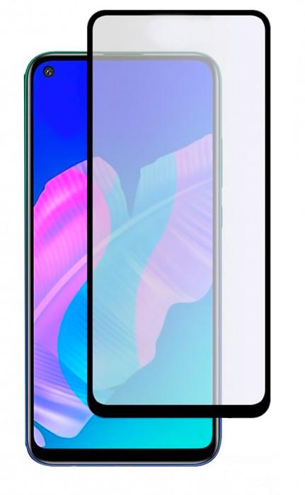POWERTECH Tempered Glass 5D, full glue, για Huawei P40 lite E, μαύρο - POWERTECH 31126