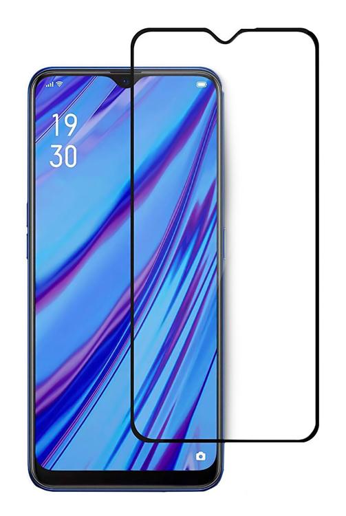 POWERTECH Tempered Glass 5D, full glue, Realme C3&C11 2020, μαύρο - POWERTECH 34662