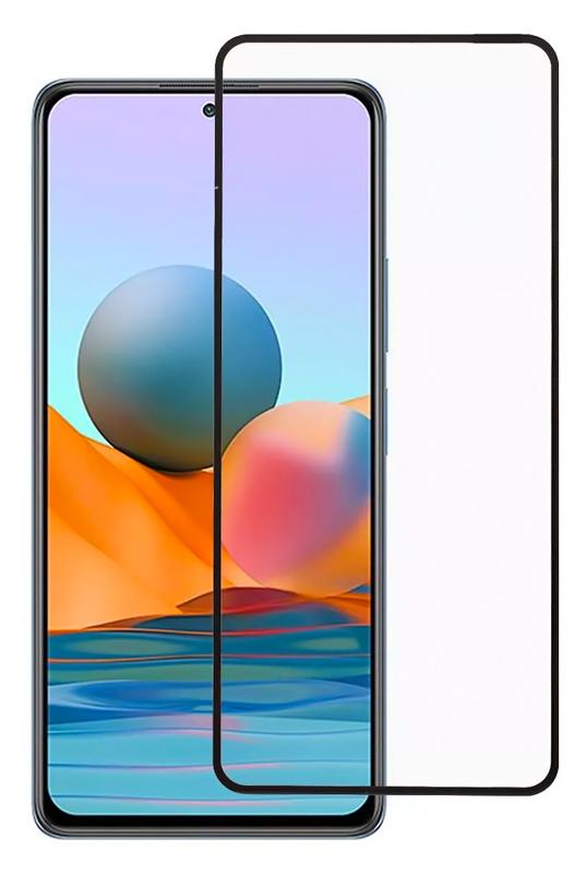 POWERTECH Tempered Glass 5D Full Glue TGC-0486, Xiaomi Note 10 5G, μαύρο - POWERTECH 42393
