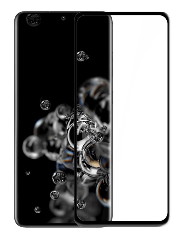 POWERTECH Tempered Glass 5D, Full Glue, Samsung Galaxy S20 Ultra, μαύρο - POWERTECH 29167