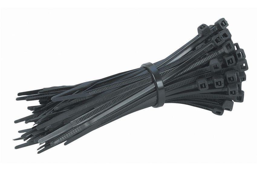 Δεματικά καλωδίων 120 x 2.5mm, διάμετρος 2-30mm, 100 τεμ, Black - POWERTECH 4902