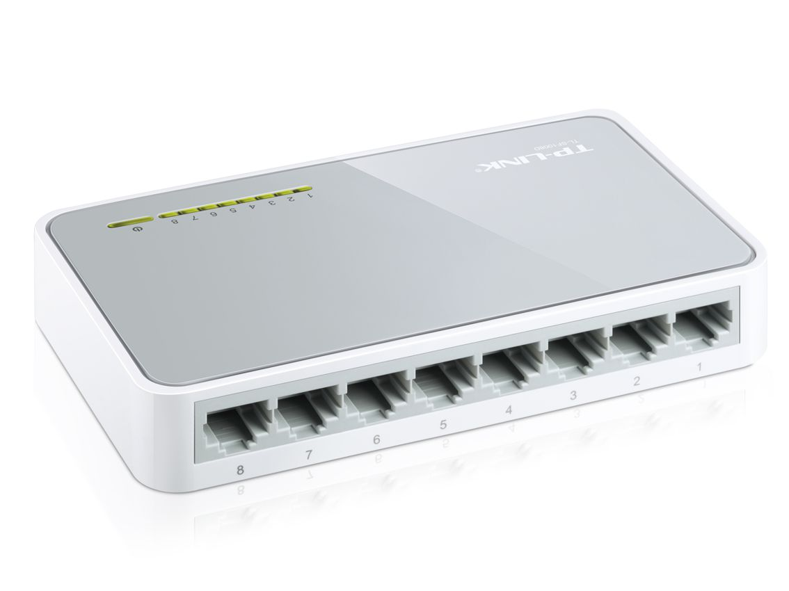 TP-LINK TL-SF1008D 8-port switch desktop 10/100M - TP-LINK 5909 v8