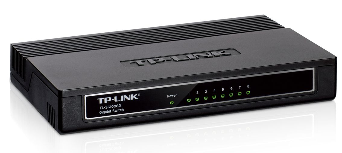 TP-LINK TL-SG1008D GD-Switch - 8PORT - TP-LINK 5915 v5