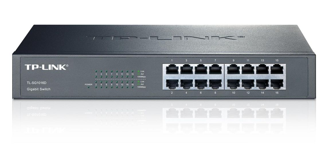 TP-LINK TL-SG1016D G.D.Switch - 16PORT - TP-LINK 5914 v2