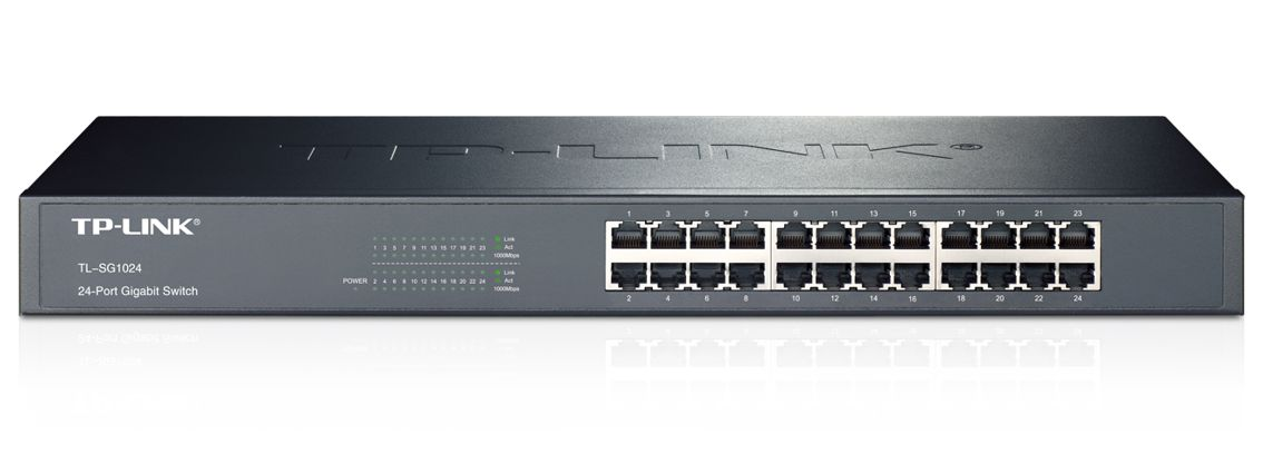 TP-LINK 24-Port Gigabit Rackmount Switch - TL-SG1024 - TP-LINK 6646