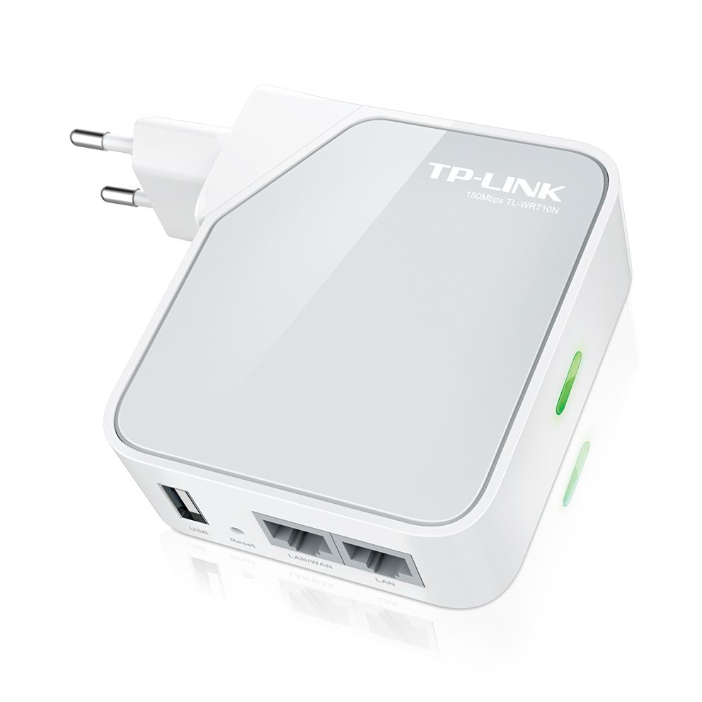 TP-LINK Wi-Fi Pocket Router/AP/TV Adapter/Repeater - TL-WR710N - TP-LINK 6662