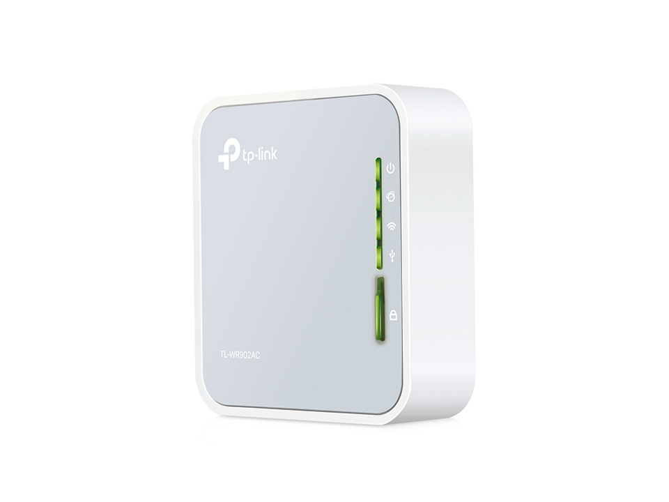 TP-LINK AC750 Wireless Travel Router TL-WR902AC - TP-LINK 14027 v1