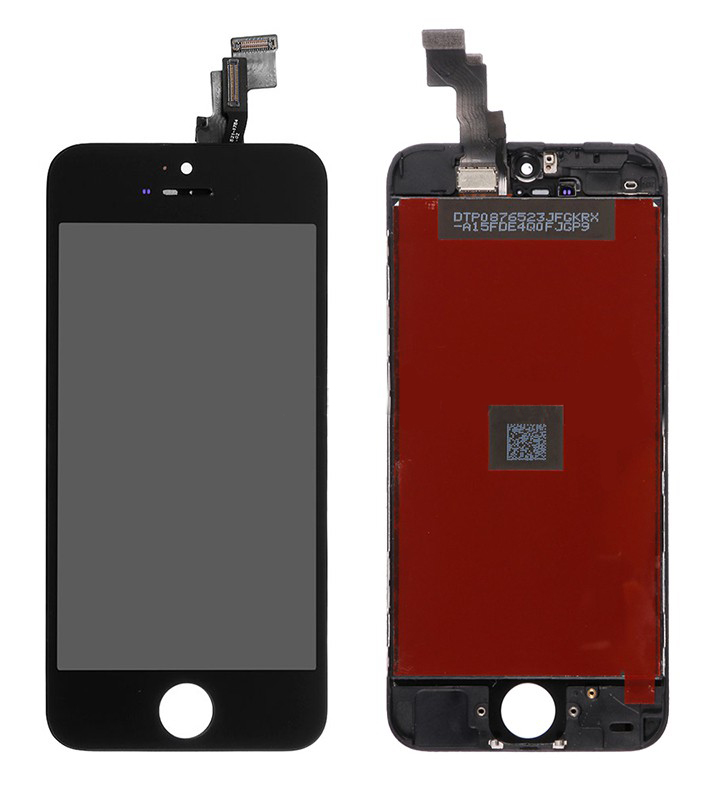 TIANMA High Copy LCD για iPhone 5C, Premium Quality, Black - TIANMA 16025