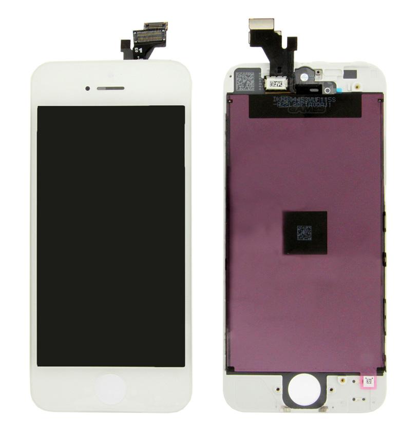 TIANMA High Copy LCD για iPhone 5G, Premium Quality, White - TIANMA 16612