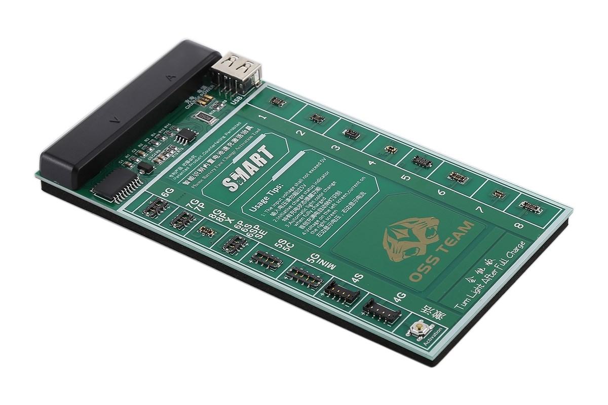 Πλακέτα φόρτισης μπαταριών W209A+ για iPhone, Oppo, VIVO, Samsung - UNBRANDED 23301