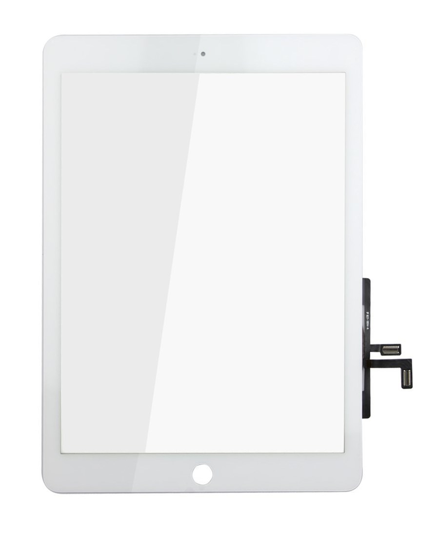 Touch Panel - Digitizer High Copy for iPad Air, bracket and tape, White - UNBRANDED 7835
