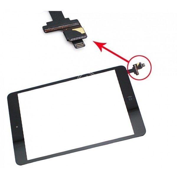 Touch Panel - Digitizer High Copy for iPad Mini, Black - UNBRANDED 7845