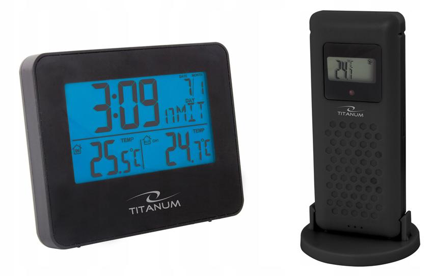 TITANUM Μετεωρολογικός σταθμος Arcus TWS103 με ασύρματο αισθητήρα - TITANUM 28850