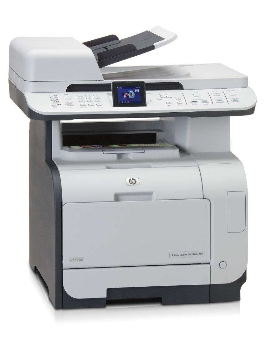 HP used Εκτυπωτής LaserJet CM2320NF,  MFP, Color, με toner - HP 5563