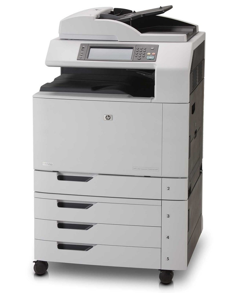 HP used Multifunction Printer CM6040 MFP, Laser, Color, A3, με toner - HP 10077