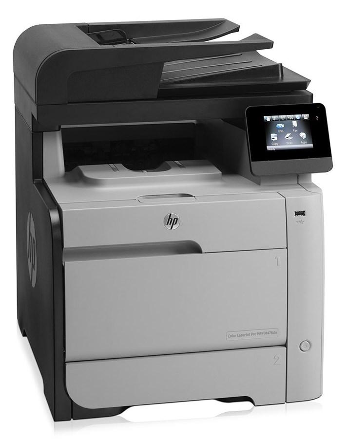 HP used Εκτυπωτής LaserJet M476dn, Color, MFP,  χωρίς toner - HP 8324