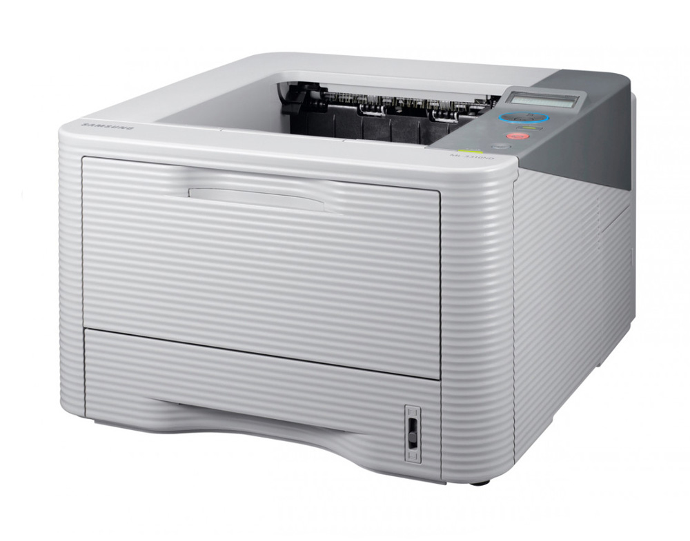 SAMSUNG used Printer ML-3310ND, laser, Mono, με toner - SAMSUNG 21824