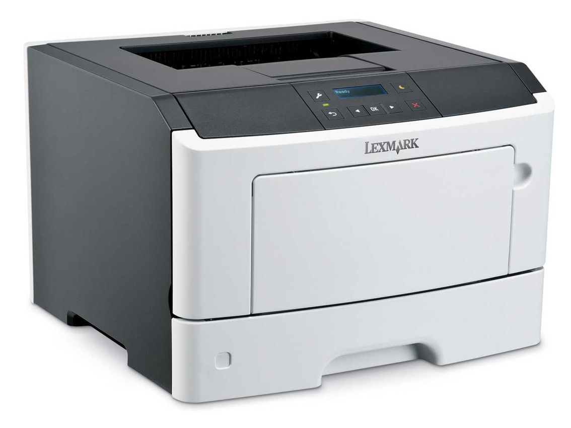 LEXMARK used Printer MS410DN, Laser, Mono, με toner & drum - LEXMARK 6670
