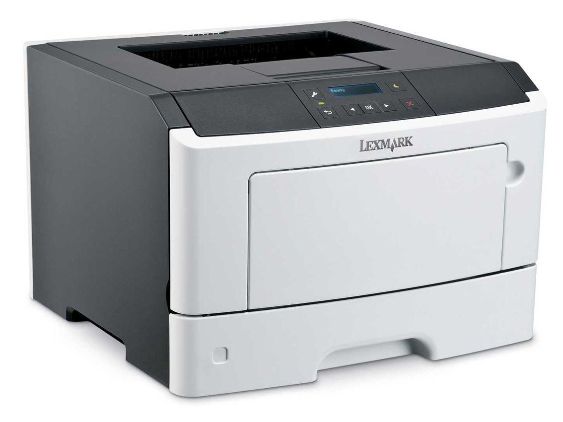 LEXMARK used Printer MS410DN, Laser, monochrome, με toner & drum - LEXMARK 6670