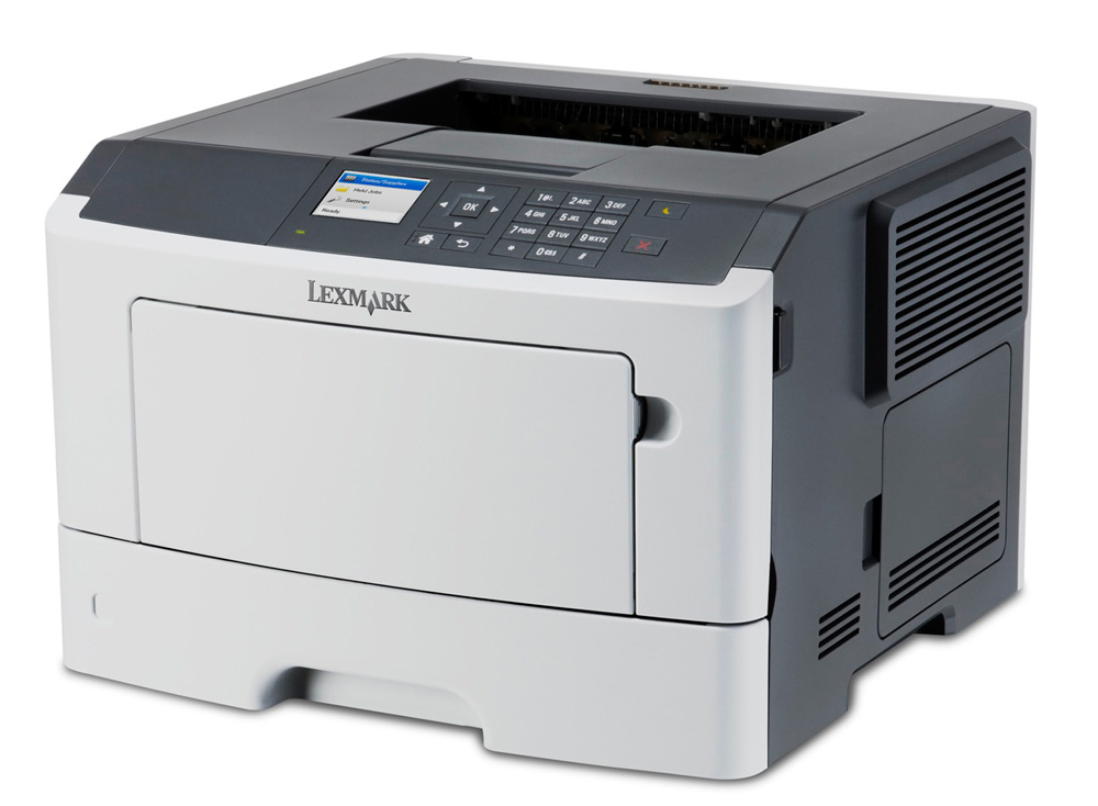 LEXMARK used Printer MS510DN, Laser, monochrome, με toner & drum - LEXMARK 14808