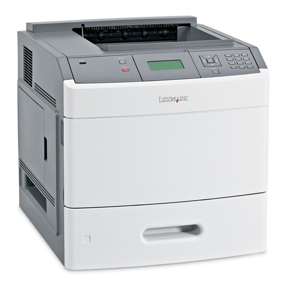 LEXMARK used Printer T654N, Laser, Mono, με toner - LEXMARK 13656
