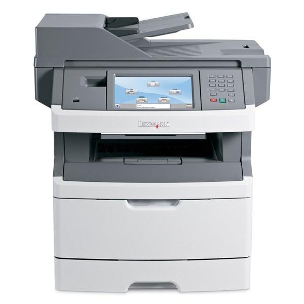 LEXMARK used MFP Printer X466de, Mono, Laser, με toner & drum - LEXMARK 8935