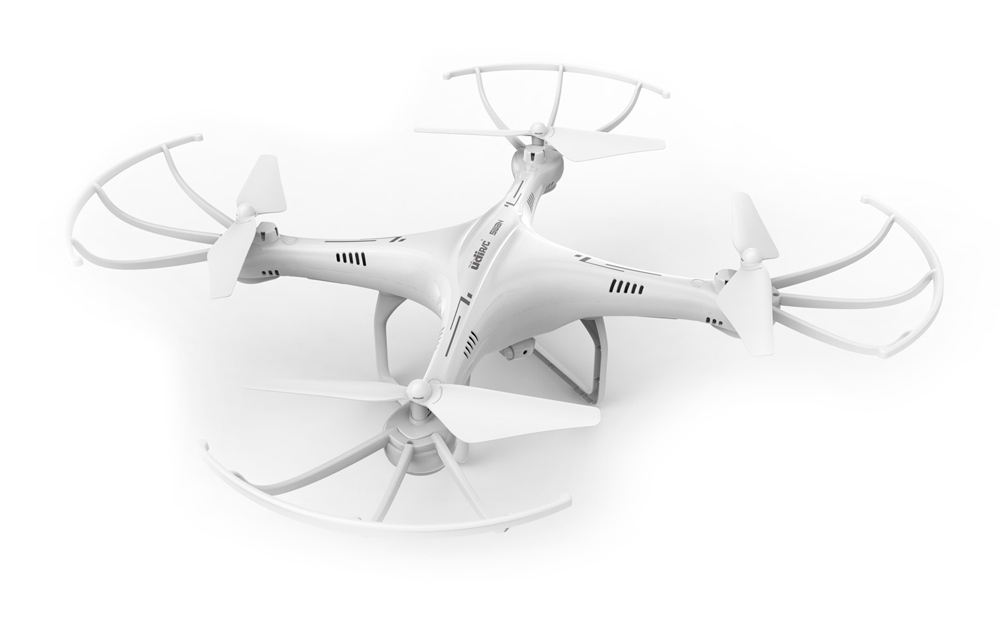 UDIRC Drone U42 Swan, 720P HD Camera, 360° flips, 6-Axis, λευκό - UDIRC 18180