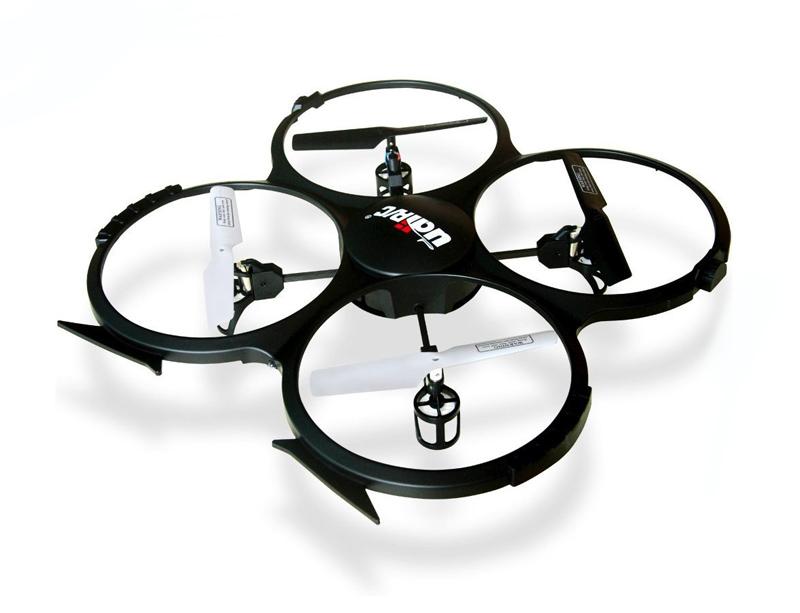 UDIRC Drone U818A, 480p Camera, 6- Axis, 360°flips, μαύρο - UDIRC 18181