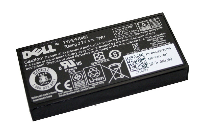 DELL used Battery U8735 για PERC Raid Controller, 3.7V - DELL 15970