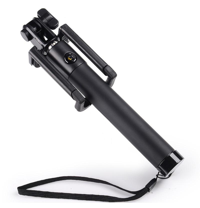 LOCUST Selfie stick UCH-BK, Bluetooth, 80cm, Black - LOCUST 14594