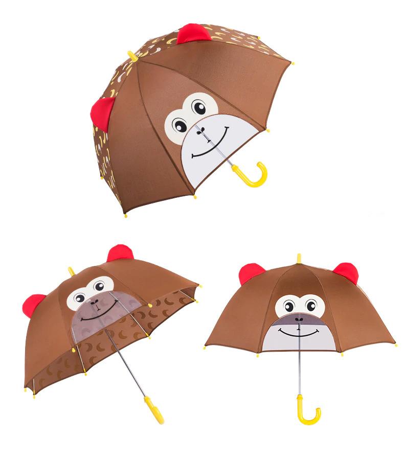 JIPILI παιδική ομπρέλα 3D UMB-0001, μαϊμού - JIPILI 31068