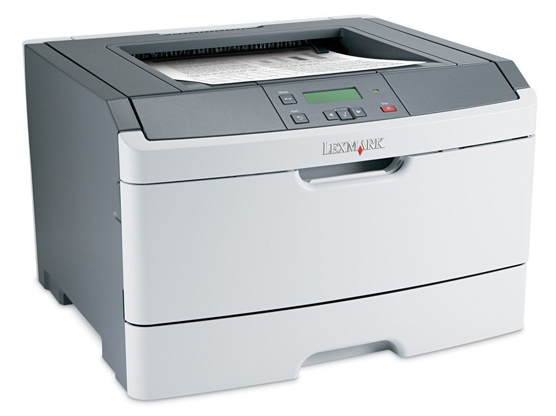 LEXMARK used Printer E360DN, Laser, Mono, no Toner/Drum - LEXMARK 13417