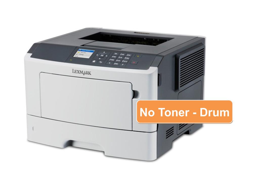 LEXMARK used Printer MS415dn, laser, monochrome, low toner - LEXMARK 22146