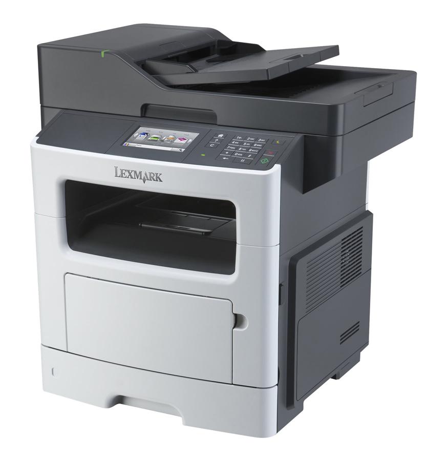 LEXMARK used MFP Printer MX510DE, Laser, Mono, low toner & drum - LEXMARK 30603