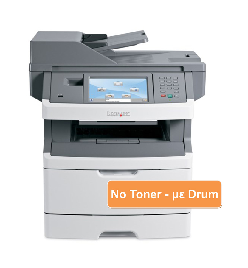 LEXMARK used MFP Printer X466de, Mono, Laser, no drum/toner - LEXMARK 19912