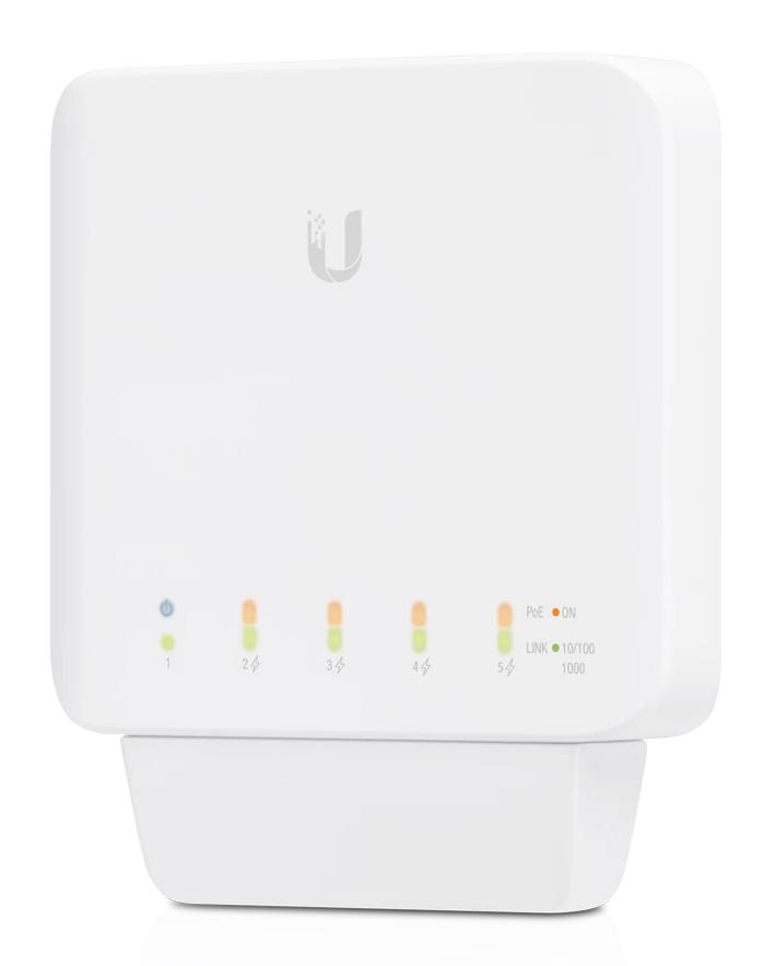UBIQUITI UniFi Switch Flex USW-FLEX, 5x Gigabit Rj45, indoor/outdoor - UBIQUITI 30176