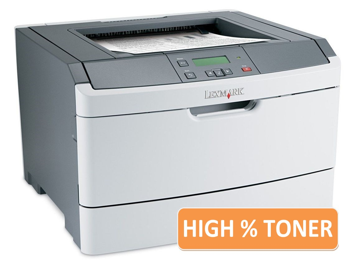 LEXMARK used Printer E360DN, Laser, Mono, high toner - LEXMARK 9897