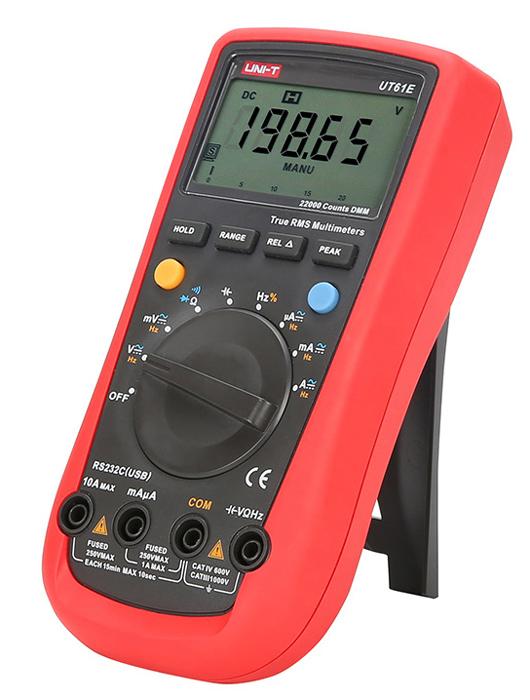 UNI-T ψηφιακό πολύμετρο UT61E, DC/AC, True RMS, RS-232 - UNI-T 33131