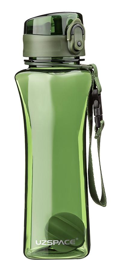 UZSPACE παγούρι νερού Twisted Fitness UZ-6006-GN, 500ml, πράσινο - UZSPACE 29467