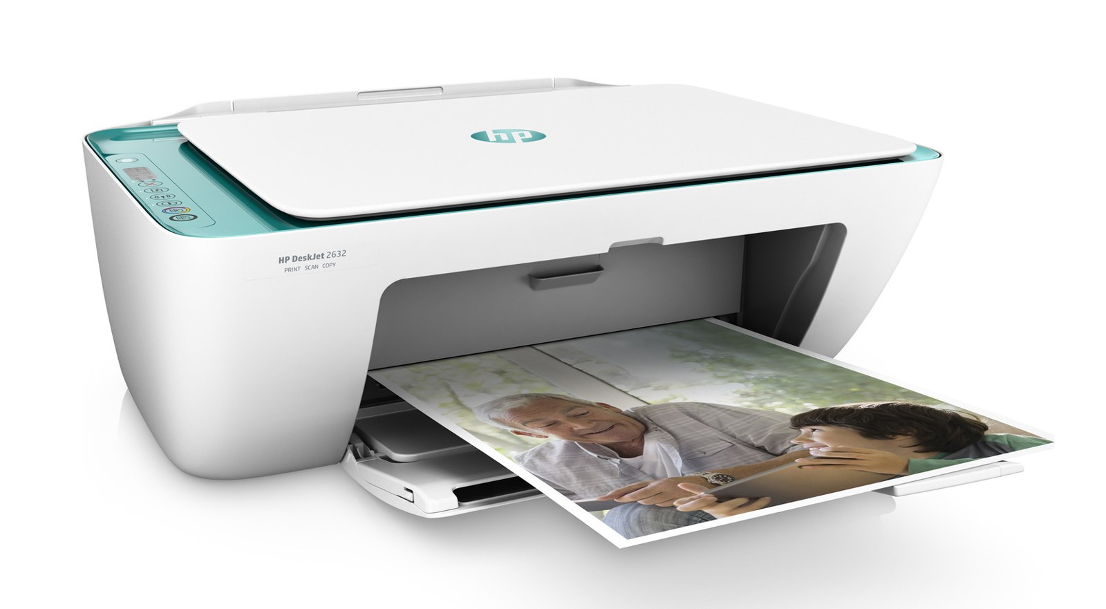 HP MFP Printer DeskJet 2632 All-in-One, WiFi, Color, Καινούριος - HP 21792