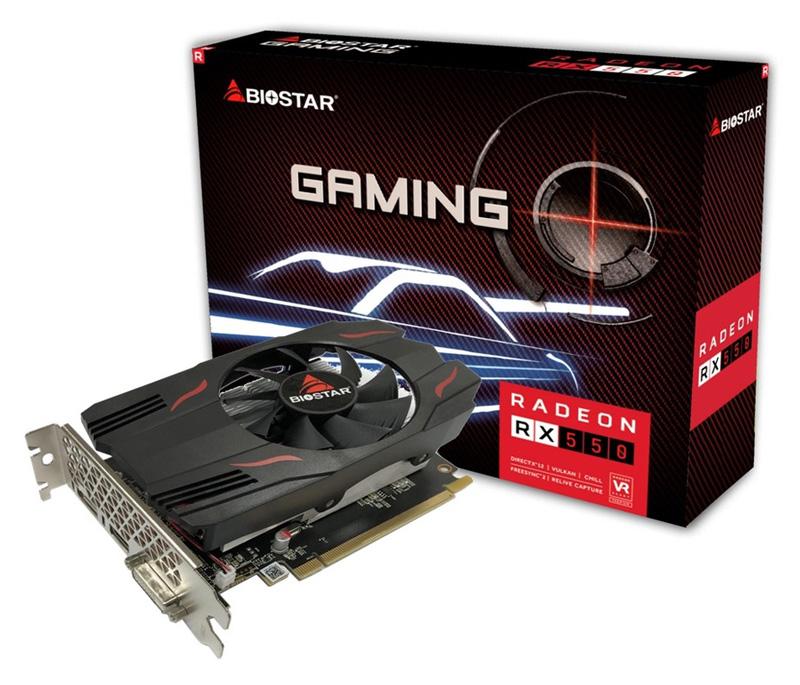 BIOSTAR VGA AMD Radeon RX550 VA5515RF21, GDDR5 2GB, 128bit - BIOSTAR 36060