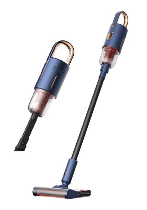 DEERMA φορητή ηλεκτρική σκούπα VC20 Pro, 220W, 0.6L, 84dB, 17kPa, μπλε - DEERMA 44010