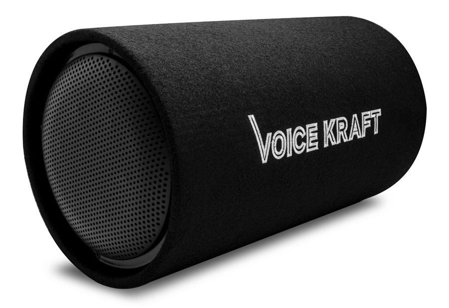 """VOICE KRAFT active subwoofer VK-1001, 300W, 10"""", μαύρο - VOICE KRAFT 27024"""