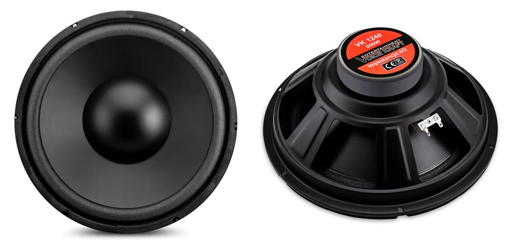 "VOICE KRAFT CLASSIC series woofer VK-1240-4, 4 Ohm, 12"", 160W RMS - VOICE KRAFT 27985"