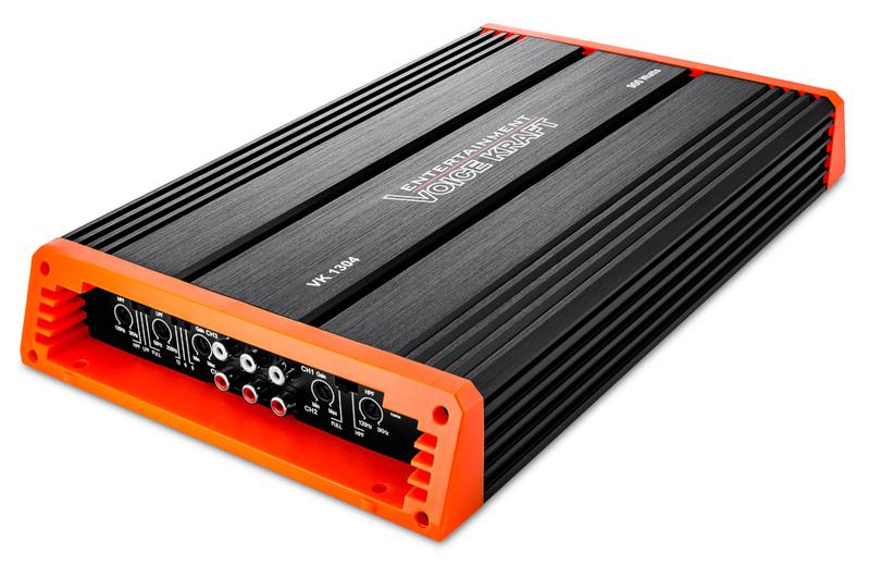 VOICE KRAFT ενισχυτής αυτοκινήτου VK 1304, 4 κανάλια, 4x 75W RMS - VOICE KRAFT 27692