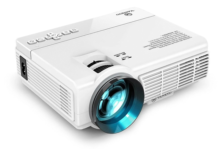 VANKYO LED βιντεοπροβολέας Leisure3, 1080p, VGA/HDMI/USB, λευκός - VANKYO 34469