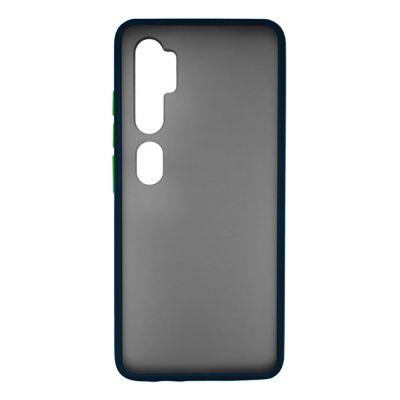 VENNUS Θήκη Color Button VNS-0027 για Xiaomi Mi 10/10 Pro, μπλε - VENNUS 30248