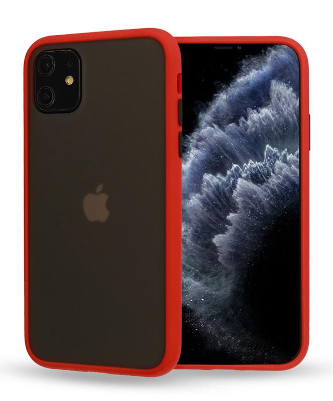 VENNUS Θήκη Color Button VNS-0029 για iPhone 11 Pro, κόκκινη - VENNUS 30998