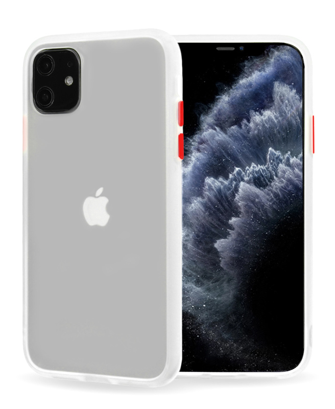 VENNUS Θήκη Color Button VNS-0030 για iPhone 11 Pro, διάφανη - VENNUS 30999