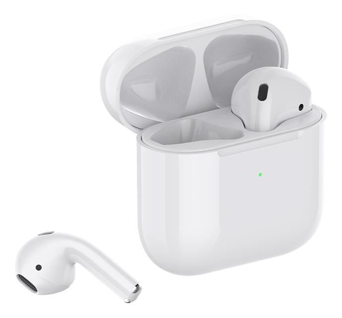 CELEBRAT earphones W11 με θήκη φόρτισης, True Wireless, λευκά - CELEBRAT 37064